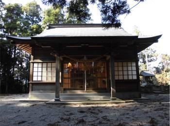 日向市東郷町7 羽坂神社 ご社殿.jpg
