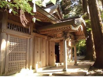 高千穂町12 槵觸神社 ご社殿2.jpg