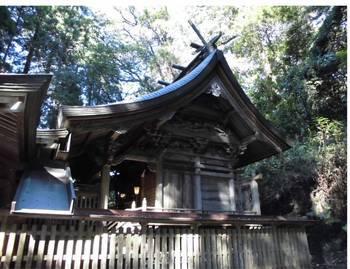 高千穂町13 槵觸神社 ご本殿5.jpg