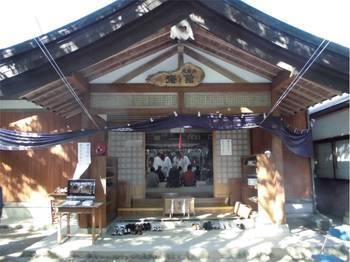 高千穂町9 天岩戸神社 斉館 神楽の催し.jpg