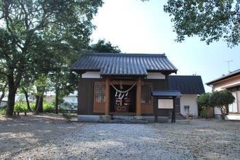 高鍋町2 稲荷神社(いなりじんじゃ)高鍋町 ご社殿.jpg